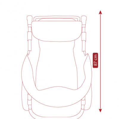 Размеры прогулочной коляски Camarelo Cone