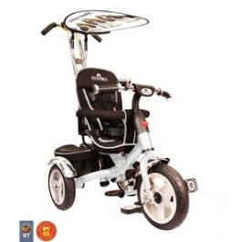 3-х колесный велосипед Rich Toys Lexus Trike original VIP 2013 white с надувными колесами