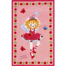 Ковер Böing Carpet Prinzessin Lillifee 110x170см 2200-0117