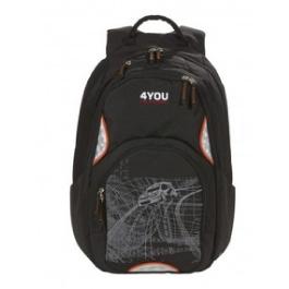 Школьный рюкзак 4YOU Flow 141000-215 расцветка: