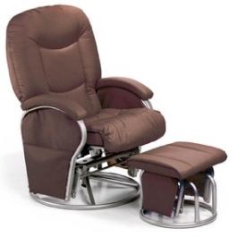 Кресло для кормления Hauck Metal Glider Brown