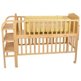 Детская кроватка Geoby LMY624H с матрасом и балдахином