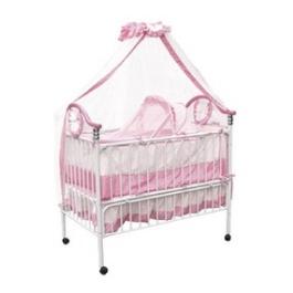 Детская кроватка Geoby TLY632 цвет Розовый