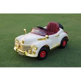 Электромобиль River-Auto Bentley-E999KXC бежевый/золотой обвес