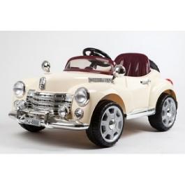 Электромобиль River-Auto Bentley-E999KXC бежевый/хромированный обвес