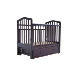 Детская кроватка Лаура -1 Стразы (поперечный маятник)