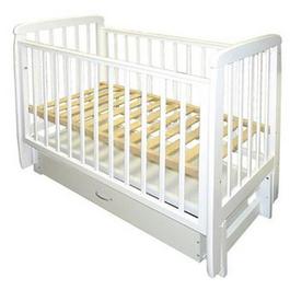 Детская кроватка Соня 04 с ящиком (поперечный маятник)