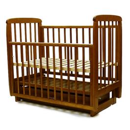 Детская кроватка Соня 05 с ящиком (продольный маятник)