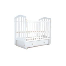 Детская кроватка Лаура -5 (поперечный маятник) БЕЗ ЯЩИКА