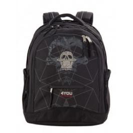 Школьный рюкзак 4YOU Compact 112901-178 Череп