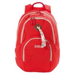 Школьный рюкзак 4YOU Flow Коралл