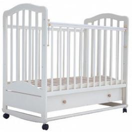 Детская кроватка Лаура -6 (качалка) с ящиком