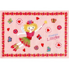 Ковер Böing Carpet Prinzessin Lillifee 110x170см 2168-0117