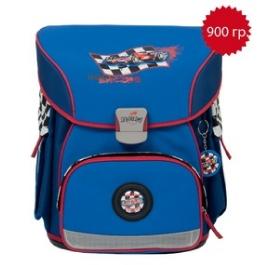 Школьный ранец DerDieDas 404 Гонки X-Light с наполнением