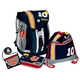 Школьный ранец Spiegelburg Soccer Flex Style с наполнением