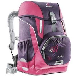 Школьный рюкзак Deuter OneTwo Фиолетовая бабочка с наполнением 4 предмета 3830015-3029/SET2