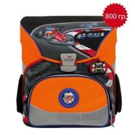 Школьный ранец DerDieDas 000402-003 Формула 1 Exklusiv с наполнением