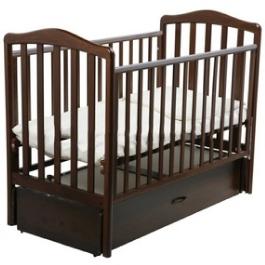 Детская кроватка Papaloni Винни (продольный маятник)