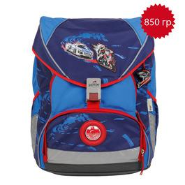 Школьный ранец DerDieDas 000406-008 Крутой вираж XL ErgoFlex (размер XL) с наполнением