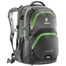 Школьный рюкзак Deuter 80223-7201 Ypsilon Черный-салатовый