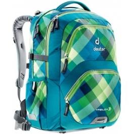 Школьный рюкзак Deuter 80223-3216 Ypsilon Сине-зеленая клетка