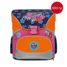 Школьный ранец DerDieDas 000402-025 Закат Exklusiv с наполнением