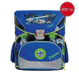 Школьный ранец DerDieDas 8402026 Скорость Exklusiv с наполнением