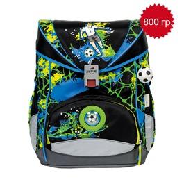 Школьный ранец DerDieDas 405-036 Лучший футболист ErgoFlex LED со светодиодами с наполнением
