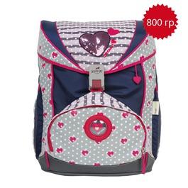 Школьный ранец DerDieDas 000405-039 Модница SuperFlash ErgoFlex с наполнением