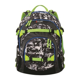 Школьный рюкзак iKon Черно-белый камуфляж 000200-05