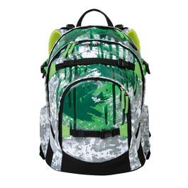 Школьный рюкзак iKon Насыщенный зеленый 000200-10