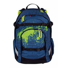 Школьный рюкзак iKon Синяя структура 000200-15