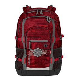 Школьный рюкзак 4YOU Jump Красное тату