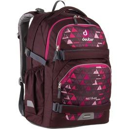 Школьный рюкзак Deuter Strike Бордовые треугольники