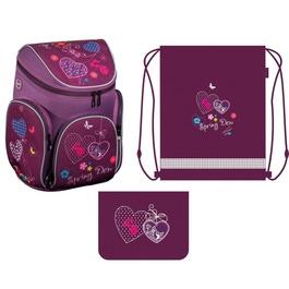 Школьный рюкзак MagTaller Boxi Hearts с наполнением