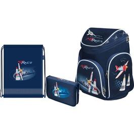 Школьный рюкзак Mag Taller Boxi Air race с наполнением