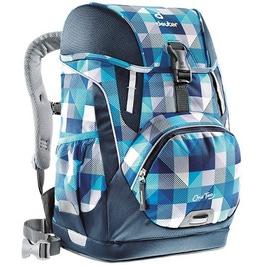 Школьный рюкзак Deuter OneTwo Сине-голубая клетка