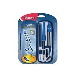 Готовальня Maped Open Multi 8 предметов