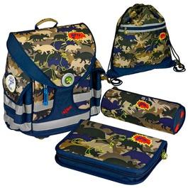 Школьный ранец Spiegelburg T-Rex Ergo Style+ с наполнением