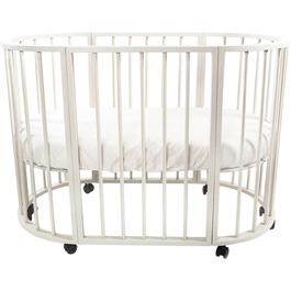 Детская кроватка Valle Domenica 9 в 1 трансформер овальная