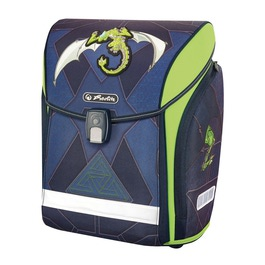 Школьный ранец Herlitz MIDI NEW Green Robo Dragon без наполнения