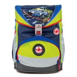 Школьный ранец DerDieDas 8405059 Полиция ErgoFlex Safety с наполнением