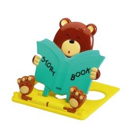 Подставка для книг Herlitz Медведь, зеленая