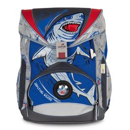 Школьный ранец DerDieDas 8405057 Акула SuperFlash ErgoFlex с наполнением