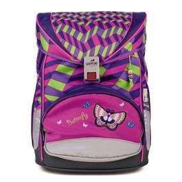 Школьный ранец DerDieDas 8405060 Девочка/Бабочка Switch ErgoFlex с наполнением