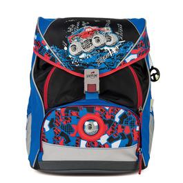 Школьный ранец DerDieDas 8406050 Грузовик XL ErgoFlex (размер XL) с наполнением