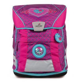 Школьный ранец DerDieDas 8407063 Принцесса ErgoFlex Vario с наполнением