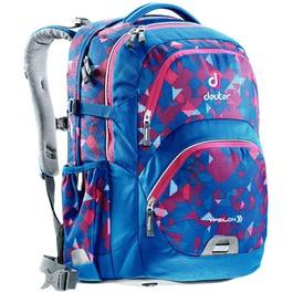 Школьный рюкзак Deuter 80223-3082 Ypsilon Сине-розовая клетка