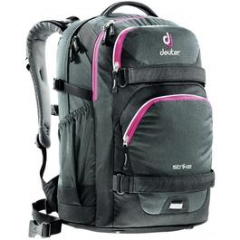 Школьный рюкзак Deuter 3830016-7505 Strike Черный-бордовый