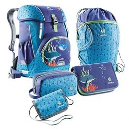 Школьный рюкзак Deuter OneTwo Дельфины с наполнением 5 предметов 3880017-3047/SET3